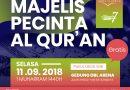 200 Wisudawan Penghafal Al Quran Semarakkan Majelis Pecinta Al Quran